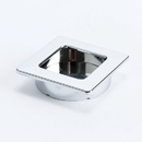 Pull 50X50mm Recess CHROME