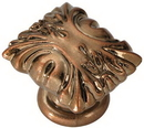 Knob 1-3/8in ANTIQUE ROSE GOLD