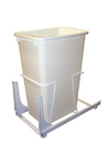 KV Door Mount Slide Out Waste Bins single bin 50qt white
