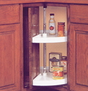 KV Pie Cut / Door Mount Lazy Susan Set 24