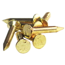 KV 255 Shelf Standard Nails Brass