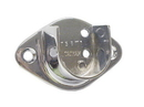 Open Flange For 1-1/16in Rod CHROME