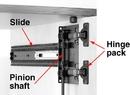 KV8090 Pinion Shaft for KV8092 Slides 36
