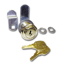 CompX National Disc Tumbler Lock Nickel Key #390, Cylinder for up to 1-1/8