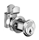 CompX National Pin Tumbler Lock Dull Chrome Key #107, 1-1/8in Mat