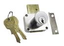 CompX National Pin Tumbler Lock Dull Chrome Key #007 Masterkeyed