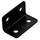 National Hardware N351-483 Corner Brace Black