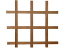 24x30 Sanoma 24-Btl WineRack MAPLE