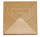 Omega National Beaded Filler Moulding Pyramid Cap Red Oak
