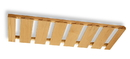 36Wx11-1/4D 8-Row Stemware Rack HI