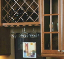 Omega National Wood Stemware Rack L Moulding Maple