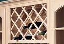 Omega National Diagonal Series Wine Rack Maple