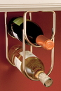 Rev-A-Shelf Wine Bottle Rack polished brass