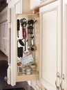 Rev-A-Shelf Base Cabinet Filler Organizer w/ hanging storage and shelves
