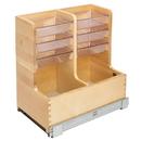 Rev-A-Shelf 11-11/16W Vanity Organizer 18.75D x18-7/8H Soft Close