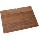 Wood Board 30-1/4in 9 Pegs Walnut