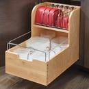 Rev-A-Shelf 4FSCO-18SC Food Storage Container Organizer