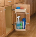 Rev-A-Shelf 4SBSU-21 Sink Base Door Storage maple