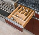 Rev-A-Shelf 4WCT-1 Wood Cutlery Tray Insert 14-5/8