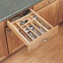 Rev-A-Shelf 4WCT-3 Wood Cutlery Tray Insert 20-5/8