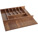 Rev-A-Shelf 4WCT-WN-3SH Walnut Cutlery Tray 21-1/8