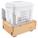 Rev-A-Shelf Bottom Mount Wood Hamper w/Soft Close