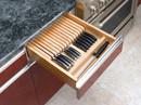 Rev-A-Shelf 4WKB-1 Maple Wood Knife Block Insert