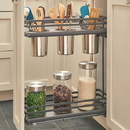 Rev A Shelf Utensil Base Org f/9in Open 2 Tier OG