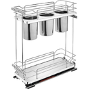 Rev-A-Shelf 5322 Series Stainless Steel Bins Pullout 8