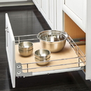 Rev A Shelf Pull Out Shelf f/15in Open Soft Close CH/MA