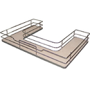 Rev A Shelf U-Shape Sink Base 33W CHR w/MA Shelf