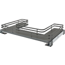 Rev-A-Shelf 32-3/4W U-Shape Sink Pull Out Gray