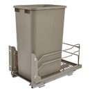 Rev-A-Shelf 53WC-1550SCDM-112 53WC Waste Bins 50qt Single Champagne