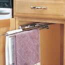 Rev-A-Shelf 563-47-C 3 Prong Towel Pullout chrome