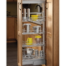 4-1/8 Pullout Pantry Soft-Close Chr