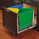 Rev-A-Shelf 5BBSC-WM Easy Sort 3 Bin Recycle Center