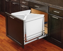Rev-A-Shelf 5BBSC-WM Easy Sort Recycle Center 3 bin white