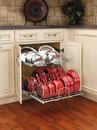 Rev-A-Shelf 5CW2-2122-CR Two Tier Cookware Organizer 20 3/4