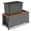 Rev-A-Shelf LEGRABOX BM Waste Container Pullouts w/Soft Close Single 30QT