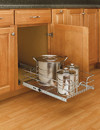 Rev-A-Shelf 5WB1-2122-CR Chrome Pull Out Baskets single pull out 20 3/8