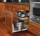 Rev-A-Shelf 5WB2-2122-CR Chrome Pull Out Baskets double pull out 20 3/4