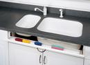 Rev-A-Shelf 6541-36SC-11-50 36in Tray 1pr Soft Close Hinge Set WH