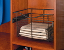 Rev-A-Shelf Wire Pullout Baskets Oil Rubbed Bronze 18