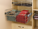 Rev-A-Shelf Wire Pullout Baskets Satin Nickel 18
