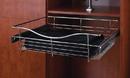 Rev-A-Shelf Wire Pullout Baskets Satin Nickel 24