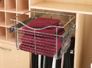 Rev-A-Shelf CB-241411CR-5 Wire Pullout Baskets Chrome 24