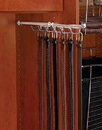 Belt Scarf Rack 11-3/4in SATIN NICK