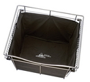 Rev-A-Shelf Wire Pullout Basket Cloth Liners Black for 30