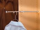 Rev-A-Shelf Pullout Valet Rods Designer CVR series Chrome 11 7/8