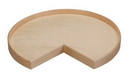 28 Kidney Wood Tray w/Swivel Bulk-8